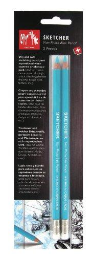 crayon bleu caran d`ache
